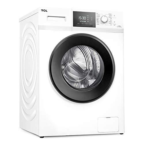 TCL TWF-60-M10303A05 Waschmaschine / 6 kg/schmale Bauform 47cm Tief / 60cm Breit / 152kWh / 1.000U min/Wabentrommel / 16-Reinigungsprogramme/AutoClean