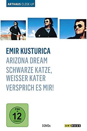 Emir Kusturica - Arthaus Close-Up ( Arizona Dream / Schwarze Katze, weisser Kater / Versprich es mir!) [3 DVDs]