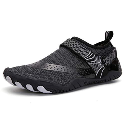 ZLDGYG Zapatos de Aguas livianas para Hombre de Secado rápido de la Mujer de Las Zapatillas de Agua de Las Zapatillas Upstream Zapatos Planos al Aire Libre Zapatillas de Deporte de la Playa Unisex