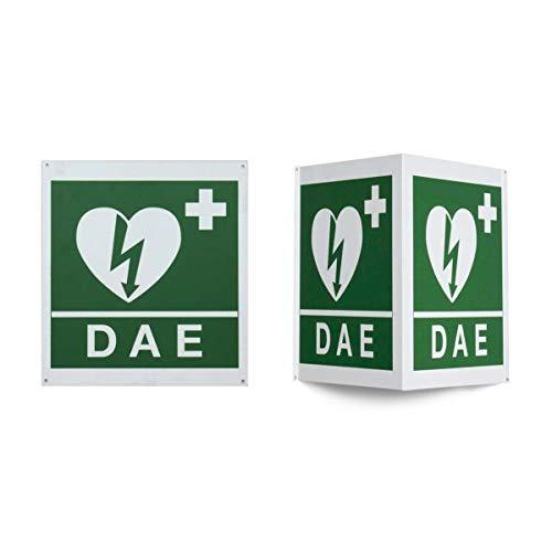 DIMED - Cartello Da Muro Per Defibrillatore - DA MURO