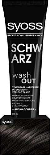 Syoss Wash Out Schwarz Stufe 0, 2er Pack (2 x 150 ml)