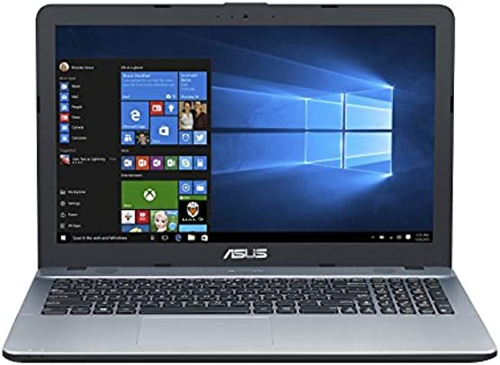ASUS F541NA 90NB0E83-M06930 39 6 cm 15 6 Zoll HD matt Laptop Intel Celeron N3350 8GB RAM 1TB Intel HD Graphics Windows 10 silber Schätzpreis : 296,08 €