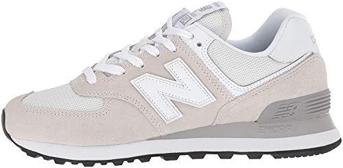 New Balance Women's 574 V2 Evergreen Sneaker, White/White, 7.5 M US