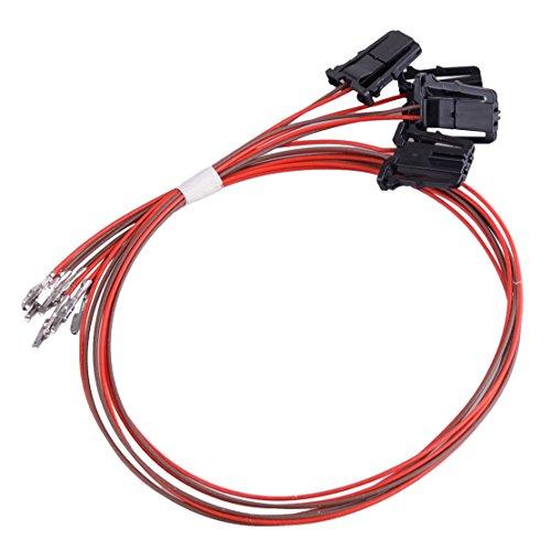 CITALL Câble de Faisceau de lumière de Porte de Voiture Câblage 3AD947411 pour VW Passat B6 7 CC Tiguan Golf Jetta MK6