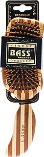 Bass Brushes | The Green Brush | Bamboo Pin + Bamboo Handle Hair Brush | Semi