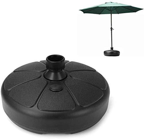 Parasol Patio Umbrella Base Portable Jardin Parasol extérieur Parasol Base de guéridon Garden Beach Parasol Soutien soleil Abri d'accessoires Parasol Stands