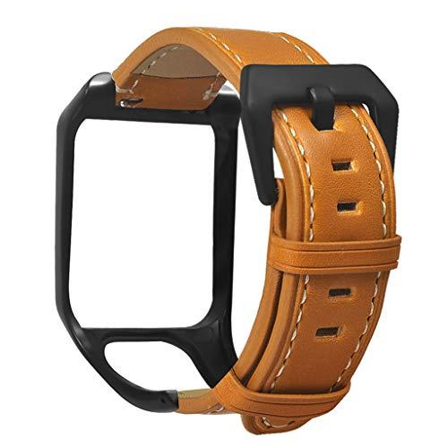 ZChun - Correa de silicona ajustable para reloj TomTom Runner 2 3/Spark 3 Cardio/Música/Aventurero/Golfer 2 accesorios de reloj