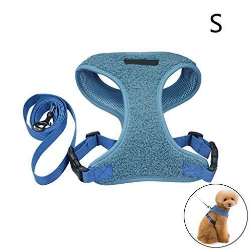 R-WEICHONG Hundeleine Haustier Weste Geschirre, Walking Haustier Geschirr Mit Verstellbaren 2 Ringen Und Griff