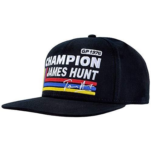 James Hunt Flat Brim Cap Silverstone 1976 Champion The Legend