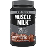 Muscle Milk Pro Series Protein Powder, Knockout Chocolate, 50g...
