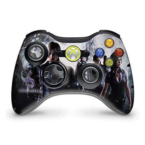 Skin Adesivo Para Xbox 360 Controle - Resident Evil 6
