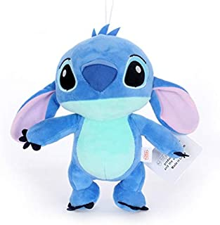Kawaii Plush Doll Toys Anime Lilo y Stitch Peluches para niños Regalo de cumpleaños 20cm / 24cm 20cm-24cm 24cm Azul