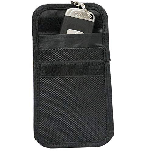Autoschlüssel Signal Abschirmung Tasche Bankkarte Anti-Entmagnetisierung Anti-Diebstahl-Tasche Handy Strahlenschutz Schlüsselpaket (2er Pack) Störsender Sicherheitssignal Blockierung Tasche RFID-Schlü