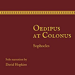 Oedipus at Colonus cover art