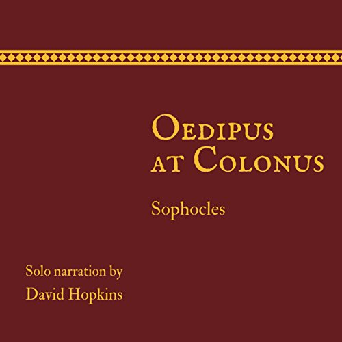 Oedipus at Colonus audiobook cover art