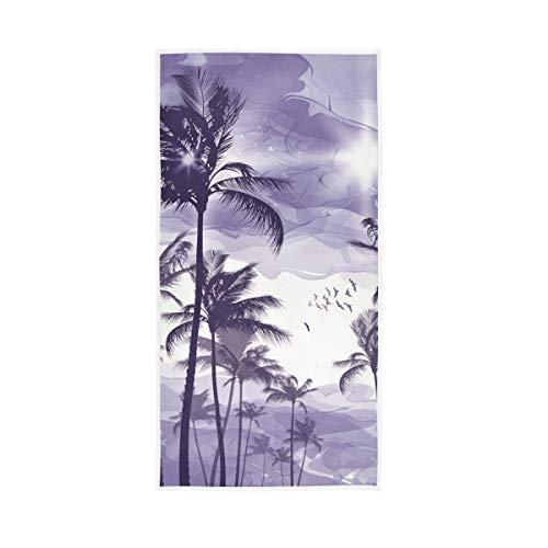 Mr.XZY Toalla de palmera tropical de playa natural suave multiusos 2010005
