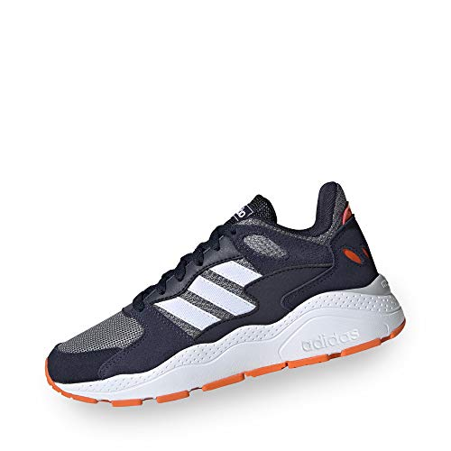 adidas Performance Crazychaos - Sneaker per Bambini, Colore: Grigio/Blu, 6 UK - 39 1/3 EU - 6,5 US
