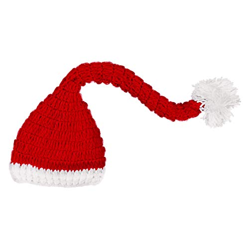 letaowl Sombrero de Navidad Sombrero de punto a mano Sombrero festivo de Navidad Sombrero de Invierno Sombreros de Niños Niñas