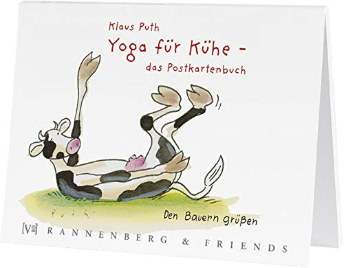 Postkartenbuch Yoga für Kühe, Postkarte Ansichtskarte