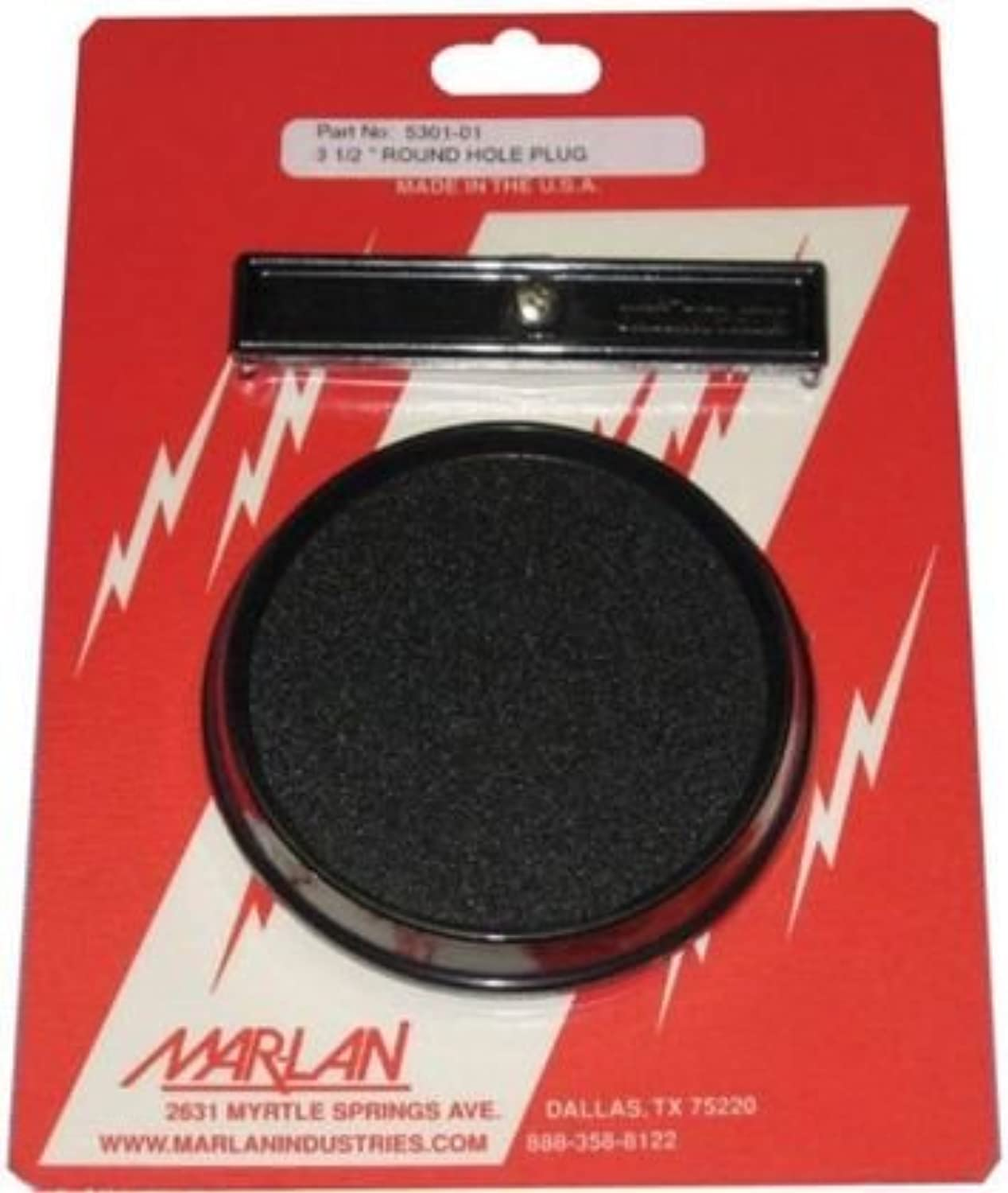MarLan Inst Hole Cvr 3 12 Instrument Hole Covers 530101C