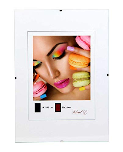 Idealtrend Bilderrahmen Pack Rahmenlos DIN A3 Bildhalter Clip Rahmen Set 29,7x42 cm: Größe: 10er Pack