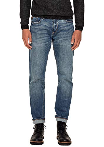 s.Oliver Herren 03.899.71.4561 Straight Jeans, Blau (Blue Denim Stretch 56z4), 30W / 34L