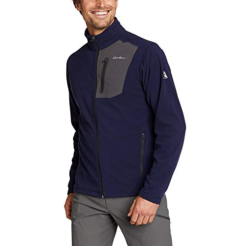 Eddie Bauer Men's Cloud Layer Pro Full-Zip Jacket, Atlantic Regular XL