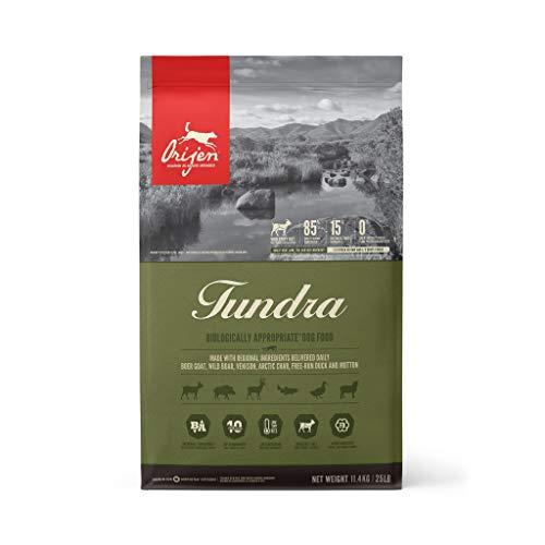 Alimento para perros Orijen Tundra seco 25lb