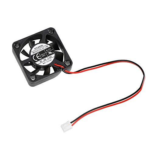 Aibecy Ventilador de enfriamiento sin escobillas 4010 24 V CC 40 * 40 * 10 mm con rodamiento de bolas Conector de 2 pines para la impresora 3D Ender 3 3D Mainboard DIY