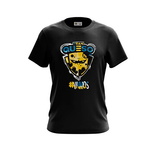 Team Queso Vamos Camiseta para Hombre