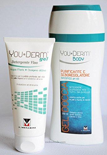 Youderm gel detergente + omaggio gel doccia