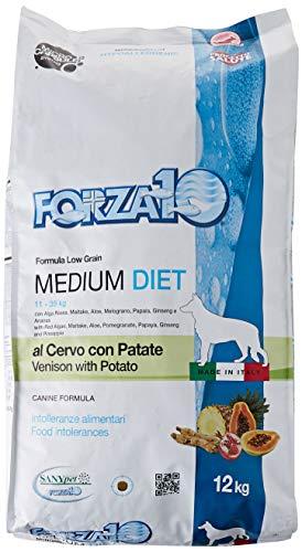 FORZA F10 Chien Medium Diet cerf/Pommes de Terre kg. 12