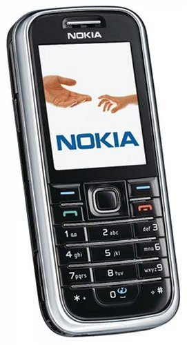 Nokia 6233 Classic Black Handy