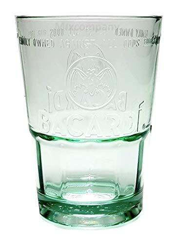 Vaso de cristal de base pesada Bacardi, Rum Mojito (1 cristal) de GarageBar