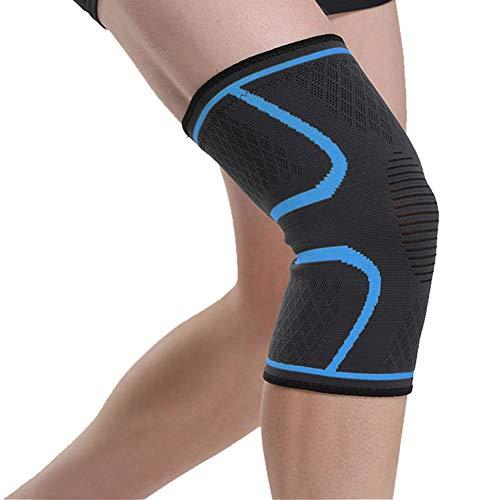 Demarkt 1 par de rodilleras de menisco para hombre y mujer, para deporte, dolor de articulaciones y artrosis, ideal para correr, culturismo y uso diario (S)