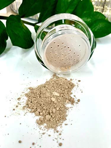 REFLECTIVES MINERAL MAKE-UP PUDER - reine, natürliche Powder Make up Foundation mit ausgezeichneter Deckkraft für einen frischen makellosen Teint im Gesicht und Hals (neutral - leicht gebräunt)