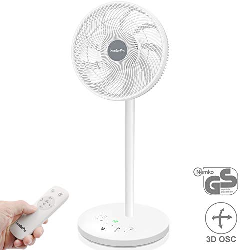 LeaderPro Ventilateur Silencieux 3D Oscillant...