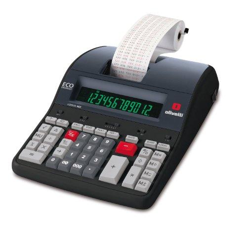 Olivetti LOGOS 902 - Calculadora sobremesa impresión con 12 dígitos y...