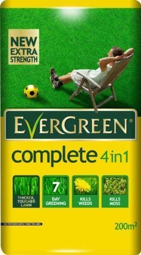 Photo of Evergreen 4 In 1 Lawn Care Bag Coverage: 200m2 (240yds2) Kills Weeds Moss