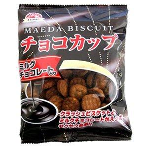 前田クラッカー チョコカップ80g×20袋