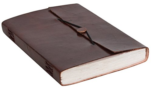 Gusti Cuero nature'Karin' 200 Páginas Libreta de Notas Formato B5 Diario Álbum Libro Vintage Retro Universidad Trabajo Oficina Papelería P34