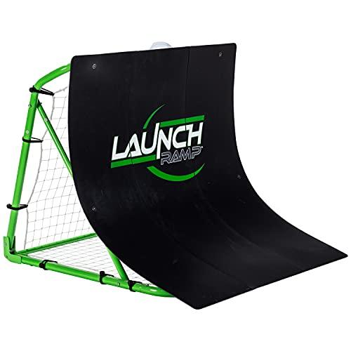 Franklin Sports Soccer Return Ramp - Soccer Launch Ramp - Portable Soccer Trainer and Rebounder - 38'x42'x35.75' Soccer Return