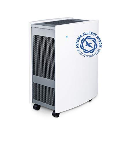 Blueair Classic 605 Luftreiniger mit Partikel-Filter ideal bis 72 m² (HEPASilent Technologie entfernt 99,97{55d1ba1b69f5d0227ee7fa5b1e80b187269c76377dff463c86ef550daf36567c} Pollen, Staub, Viren, Bakterien, Gerüche, Rauch, Tierhaare, etc) sehr leise, WLAN