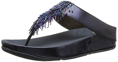 FitFlop Women's Cha, Sapphire, 7 M US