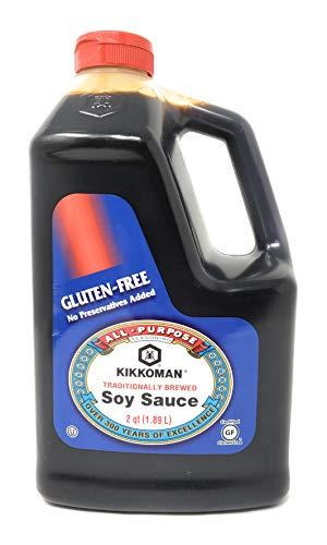 Kikkoman Traditionally Brewed Soy Sauce, 2Qt