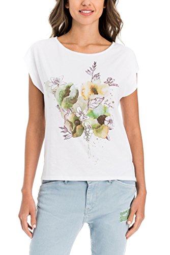 Salsa Camiseta Floral con Brillos