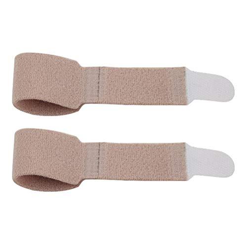 LIXBD Finger-Bandage, Unterstützung für Finger und Zehen, Trennung für gebrochene verletzte Finger
