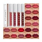 18 Colors Matte Liquid Lip Gloss Sexy Lipstick Lip Glaze Lasting...