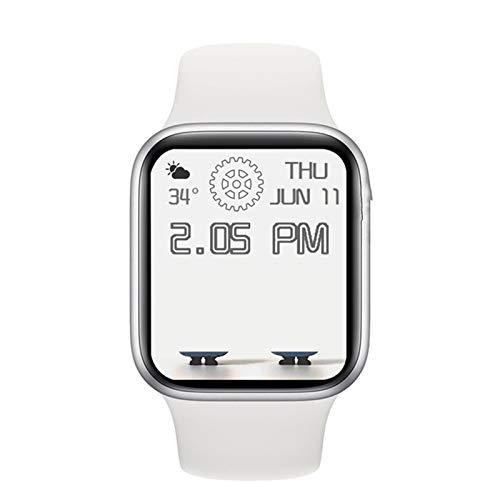 LJMG The New DW35 Bluetooth Smart Watch 1.75 Pulgadas Pantalla De 44 Mm Llamada A Bluetooth Reloj Masculino De Cargador para Android iOS Y Presión Arterial,F