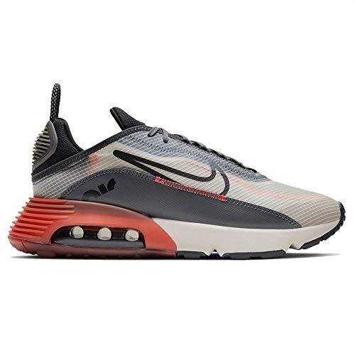 Nike Air MAX 2090, Zapatillas para Correr Hombre, Lt Bone Black Off Noir Iron Grey Magic Ember Dk Cayenne, 40 EU